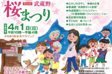 第26回 武蔵野桜まつり